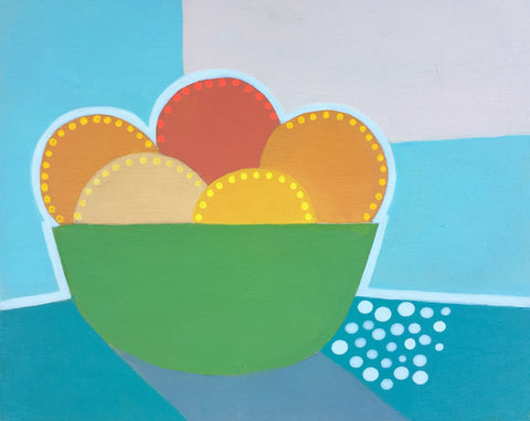 Bowl of Oranges III - Cindy DeAntonio