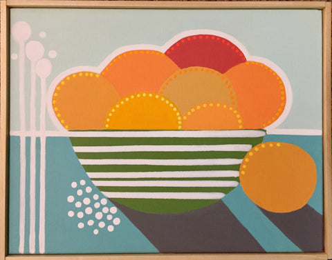 Bowl of Oranges II - Cindy DeAntonio