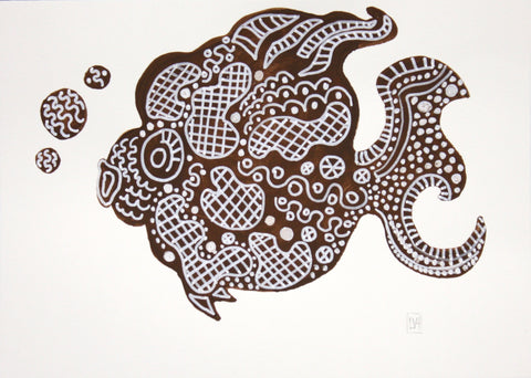 Brown Fish III- Lynne Hamontree