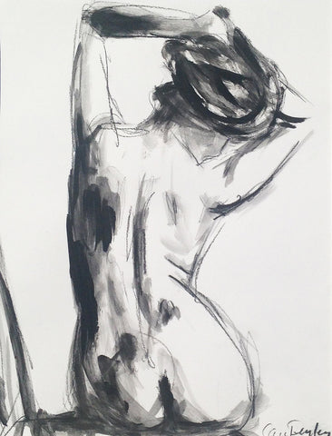 Seated Nude - Carrie Penley