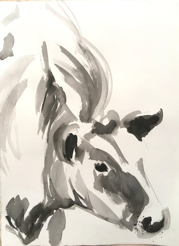 Calf Ink Study II - Christen Yates