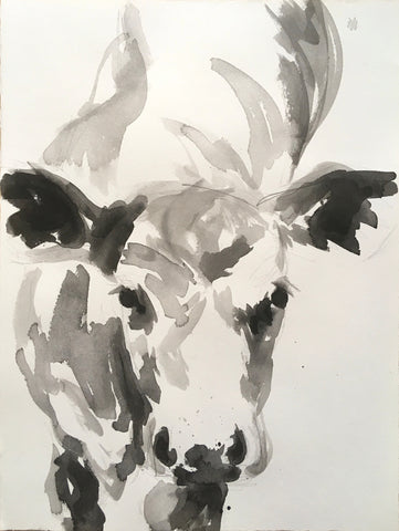 Calf Ink Study I - Christen Yates