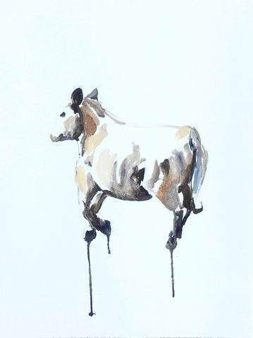 Cow Running I- Christen Yates