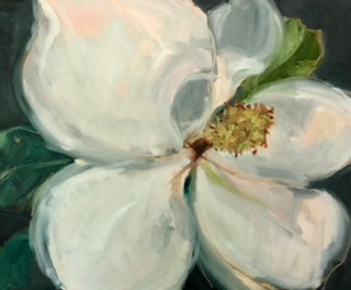 Magnolia On Grey II- Christen Yates