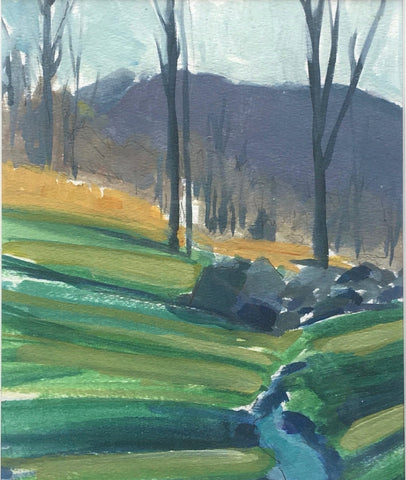 Winter Creek Study- Christen Yates
