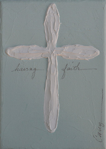 Having Faith, Aqua - Carey Haynes