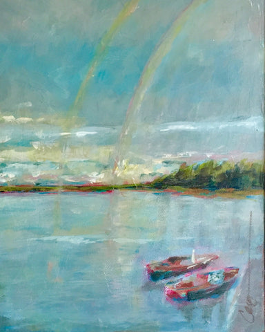 Hope in a Double Rainbow - Carey Haynes