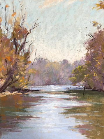 Chattahoochee Fall Morning- Lisa Gleim