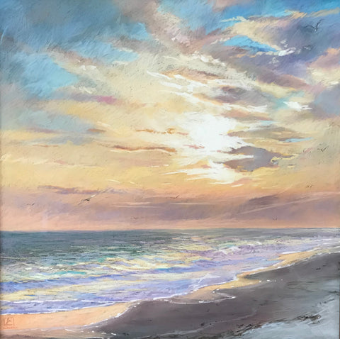 Coastal Sunrise- Lisa Gleim