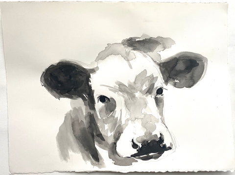 Cow Portrait Study II