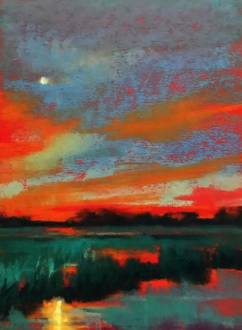 Creekside Moonlight - Beth Williams