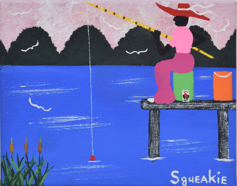 Cane Pole Fishing - Squeakie