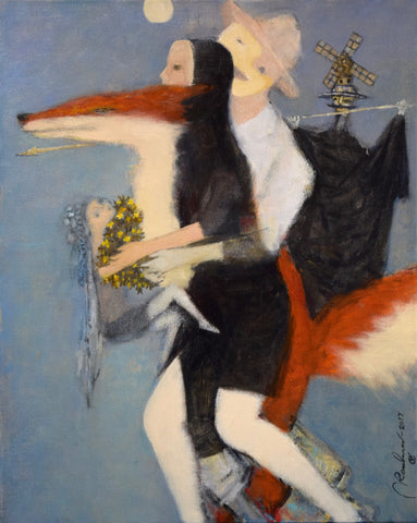 Don Quixote, Dulcinea, and Fox - Slava Roubanov
