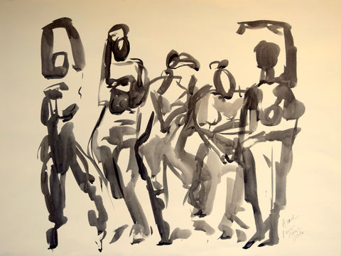 Figures Dancing II