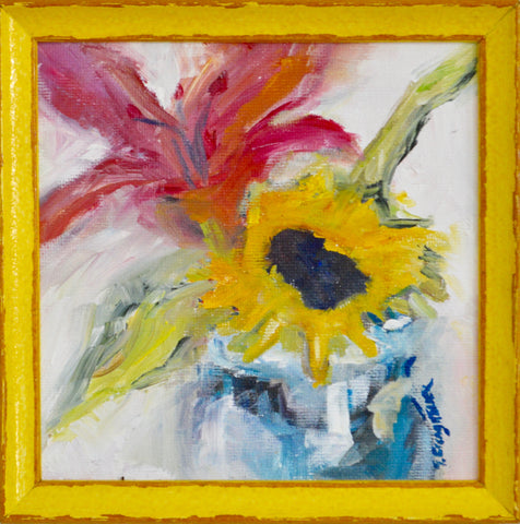 Sunflower and Lily- Susie Elder