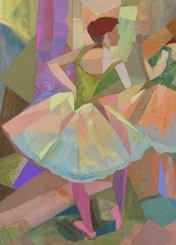 Dancers, Orange and Green- Susan Trott