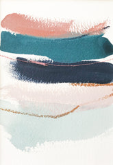 Color Study in Copper Teal and Indigo