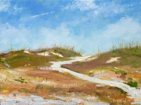 Beach Path at Noon - Lisa Gleim