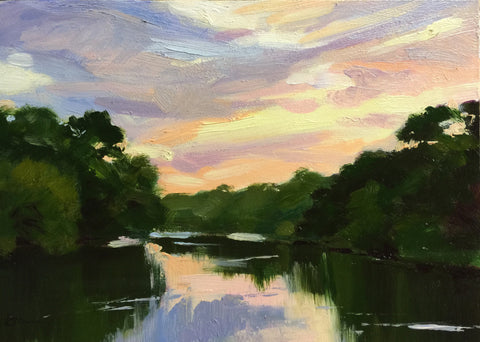 Dusk on the Chatt - Lisa Gleim