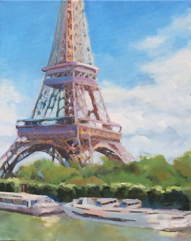 Eiffel Tower View - Anne Strickland