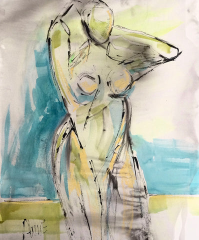 Figure By The Water II- Anne Darby Parker