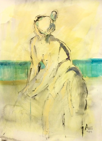 Figure By The Water I- Anne Darby Parker