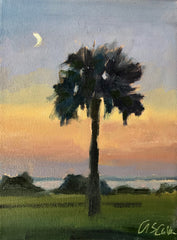 Fort Moultrie Moon- Susie Callahan