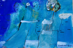 Gathered in Blue