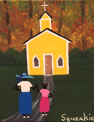 Going to Church- Squeakie