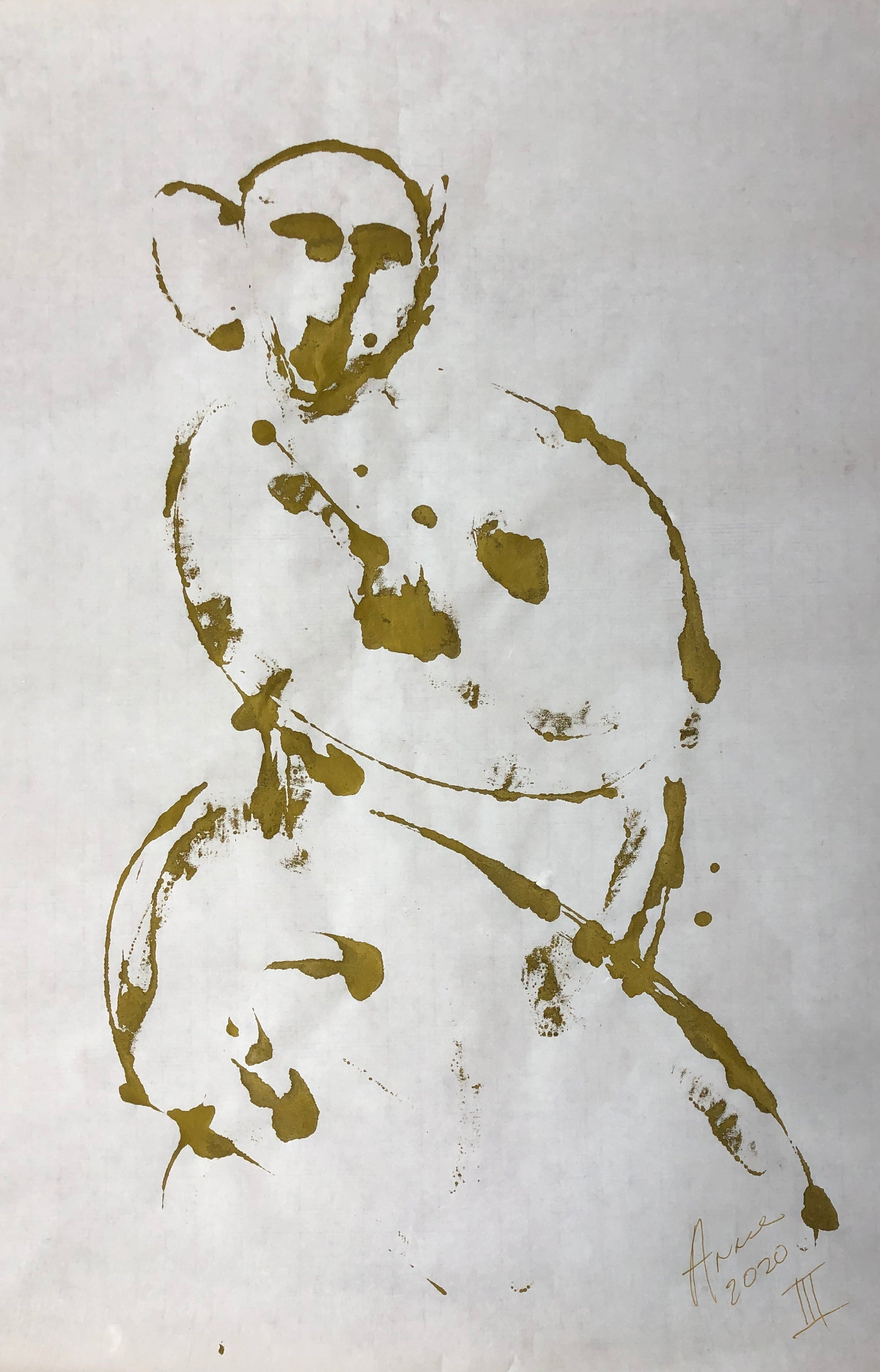 Gold Ink III