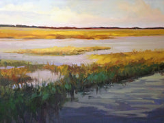 Golden Marshland - Anne Strickland