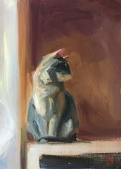 Grey Cat- Lisa Gleim