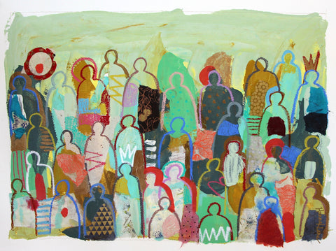 Crowd On Paper 3 - Hannah Lane