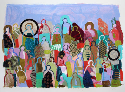Crowd On Paper 4 - Hannah Lane