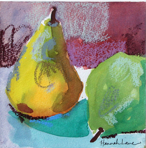 A Pair of Pears- Hannah Lane