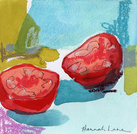 A Pair of Tomatoes- Hannah Lane