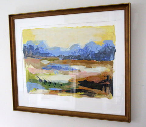Bronze Framed Mindscape 1 - Hannah Lane