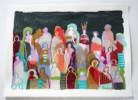 Crowd on Paper 15 - Hannah Lane