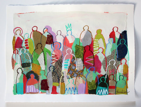 Crowd on Paper 18 - Hannah Lane