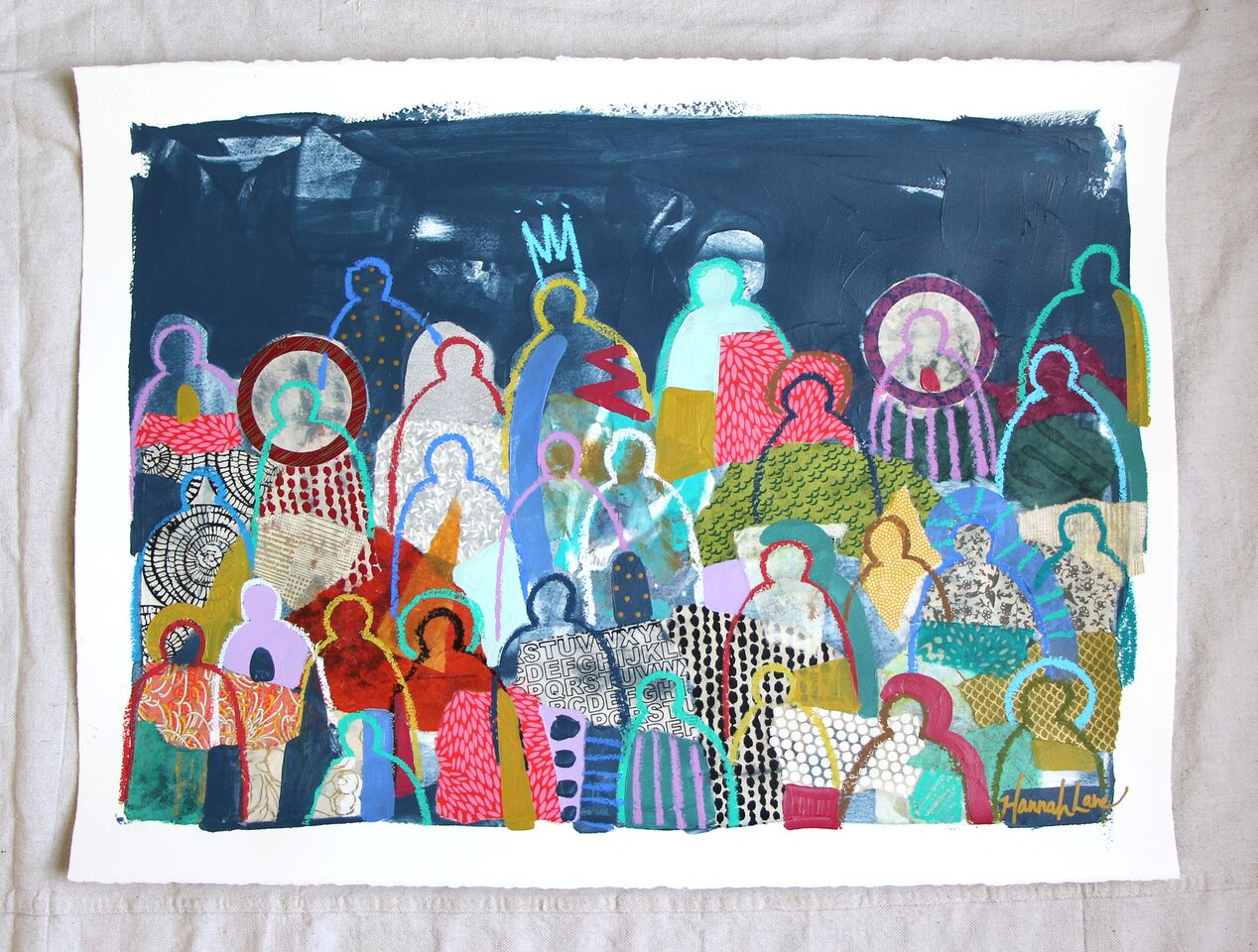Crowd on Paper 12