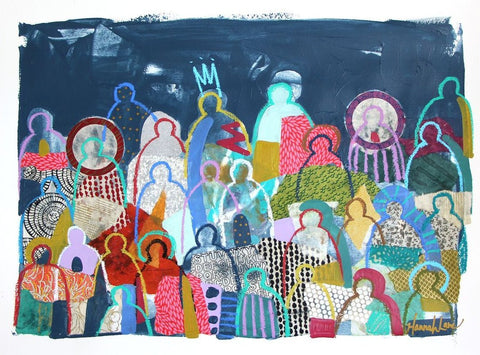 Crowd on Paper 12- Hannah Lane