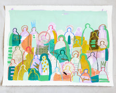 Crowd on Paper 6- Hannah Lane