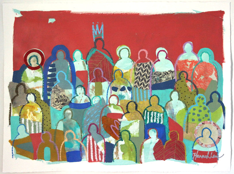 Crowd on Paper 7
