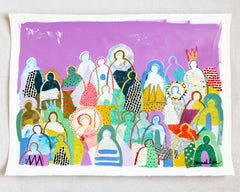 Crowd on Paper 2- Hannah Lane
