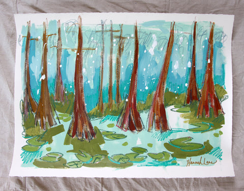 Cypress Trees 1- Hannah Lane