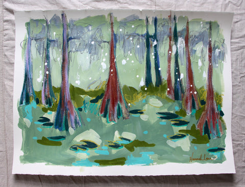 Cypress Trees 3- Hannah Lane
