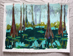 Cypress Trees 4- Hannah Lane