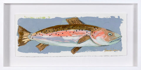 Framed Trout 1