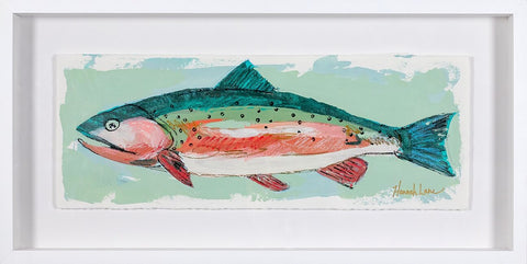 Framed Trout 3