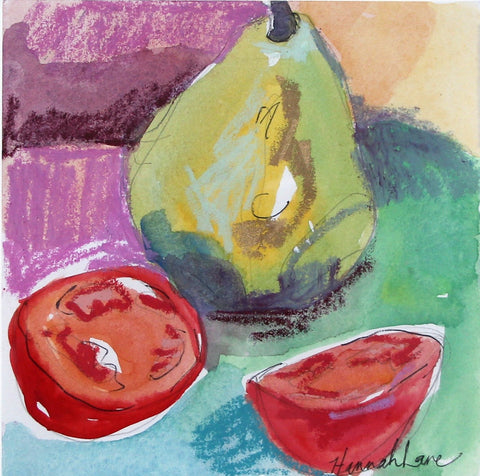 Pear + Tomatoes- Hannah Lane